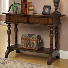 <strong>Coast to Coast Imports LLC</strong> 2 Drawer Console Table