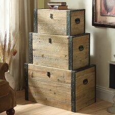 <strong>Coast to Coast Imports LLC</strong> Nesting Trunk (Set of 3)