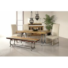 <strong>Coast to Coast Imports LLC</strong> Wood / Metal Kitchen Bench