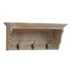 Rustic Wood Coat Rack