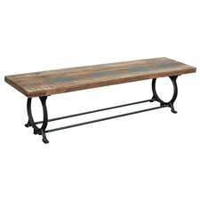 Wood / Metal Kitchen Bench