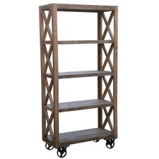 "72.5"" Trolley Bookcase"