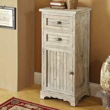 <strong>Coast to Coast Imports LLC</strong> 2 Drawer 1 Door Cabinet