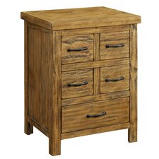 5 Drawer Accent Chest