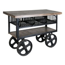 Coastal Kitchen Trolley