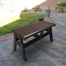 <strong>Malibu Outdoor Living</strong> Newport Polyethylene Picnic Bench