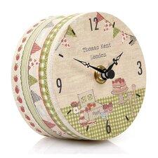 Portobello Picnic Time Mantel Clock