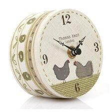 Portobello Gossip Time Mantel Clock