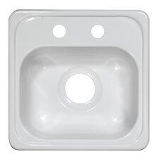 """Deluxe 15"""" x 15"""" x 6.5"""" Bar Sink"""