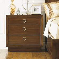 <strong>Lexington</strong> Mirage 3 Drawer Nightstand
