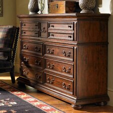 Fieldale Lodge Prescott 9 Drawer Dresser
