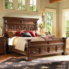<strong>Lexington</strong> Fieldale Lodge Pine Lakes Panel Bed