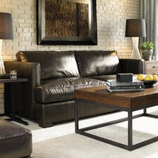South Fillmore Leather Sofa