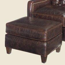 Gibson Leather Ottoman