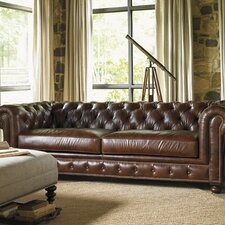Images of Courtrai Belfort Leather Loveseat