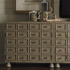 Twilight Bay Halsey Bunching 20 Drawer Chest