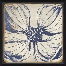 Vintage Flower Framed Art