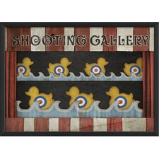 Shooting Gallery Wall Art