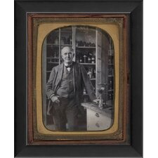 Thomas Edison Tintype Framed Photographic Print