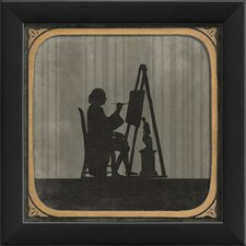 The Painter Framed Graphic Art