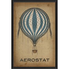 Aerostat Hot Air Balloon Wall Art