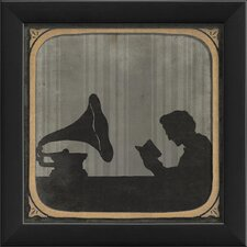 The Phonograph Framed Graphic Art