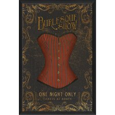 <strong>Blueprint Artwork</strong> Burlesque Show Wall Art
