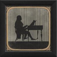 The Piano Framed Graphic Art