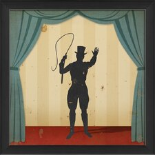 Stage Ringleader Framed Graphic Art