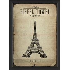 <strong>Blueprint Artwork</strong> Eiffel Tower Wall Art
