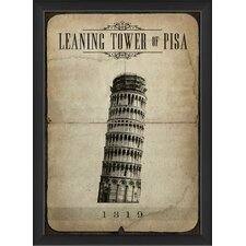 Leaning Tower of Pisa Wall Art