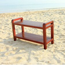 LiftAide Teak Bathroom Spa Bench