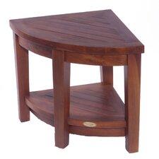 Classic Teak Corner Spa Shower Chair