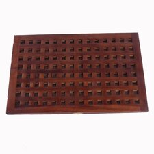 Grate Teak Spa Shower and Floor Mat