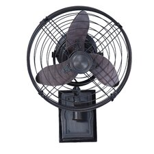 "<strong>Ellington Lighting</strong> 14"" 3 Blade Outdoor Wall Fan"