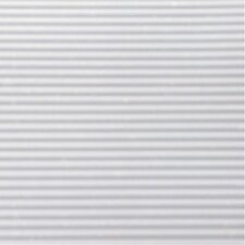 "6"" x 12"" White Ribbed Shelf Liner"