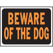 <strong>Hy-Ko</strong> Beware of Dog Sign