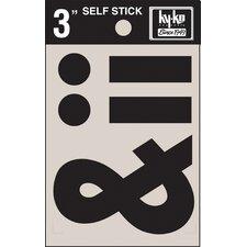 """3"""" Self Stick Symbols (Set of 10)"""