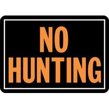 No Hunting Sign (Set of 12)