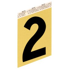 Self Adhesive Number