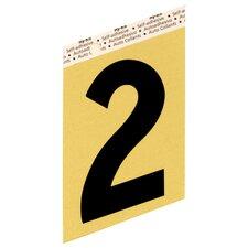 Self Adhesive Number