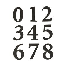 Self Adhesive Packaged Numbers