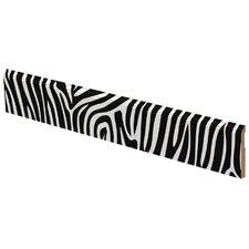 Zebra Pattern Wall Border
