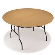 "EF Series 60"" Semi Circle Folding Table"