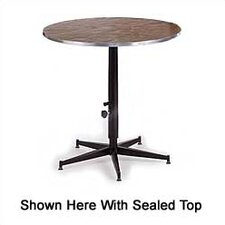 <strong>Midwest Folding Products</strong> Tri-Height Adjustable Cocktail Table with Padded Top