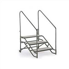 <strong>Midwest Folding Products</strong> Portable Step Unit (With Hand Rails)
