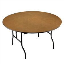 <strong>Midwest Folding Products</strong> Round Banquet Table with Padded Top