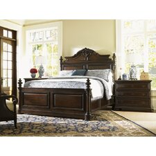 Island Traditions Amherst Carved Panel Bedroom Collection