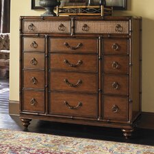 Landara Farallon 14 Drawer Gentleman's Chest
