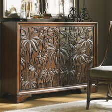 Landara Balboa 2 Drawer Carved Door Chest